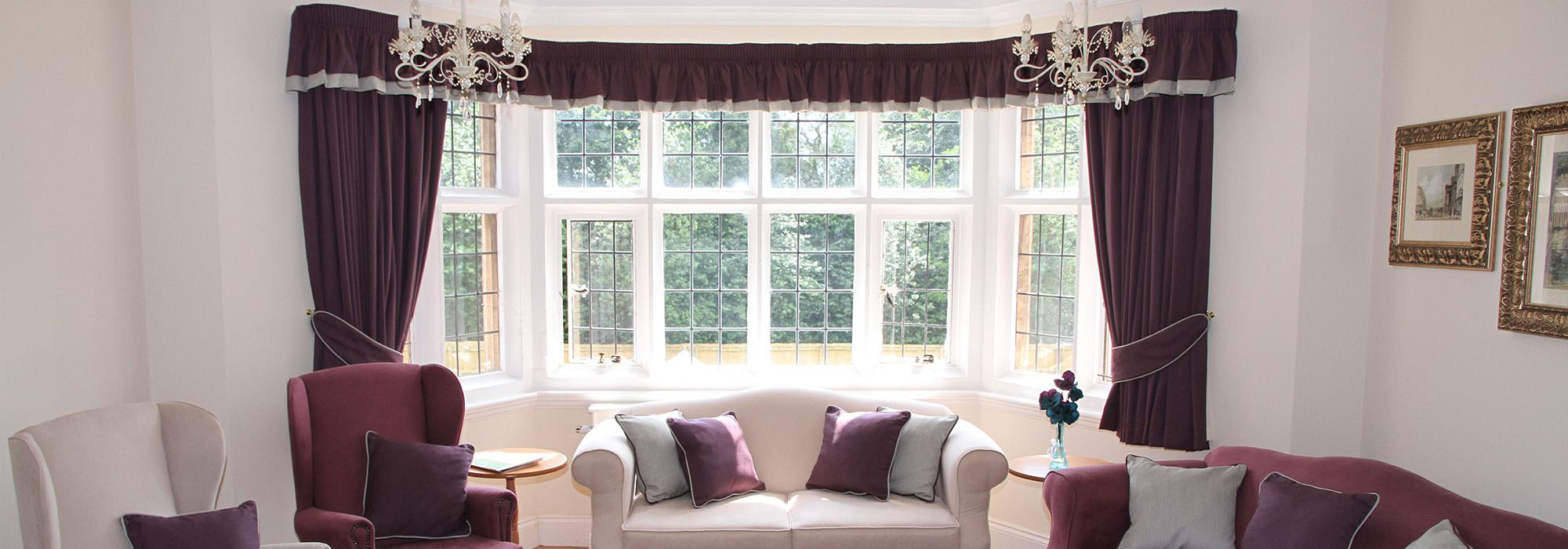 Nursing Homes Curtains & Soft Furnishings